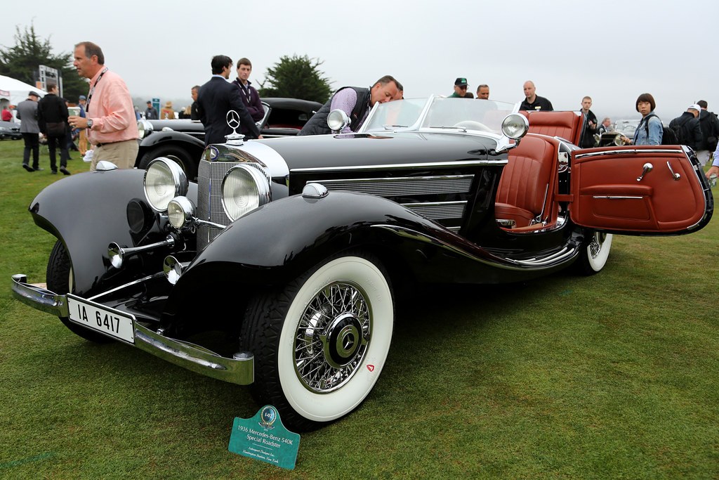 Mercedes Benz 540k Special Roadster 1936 1 John Wiley Flickr