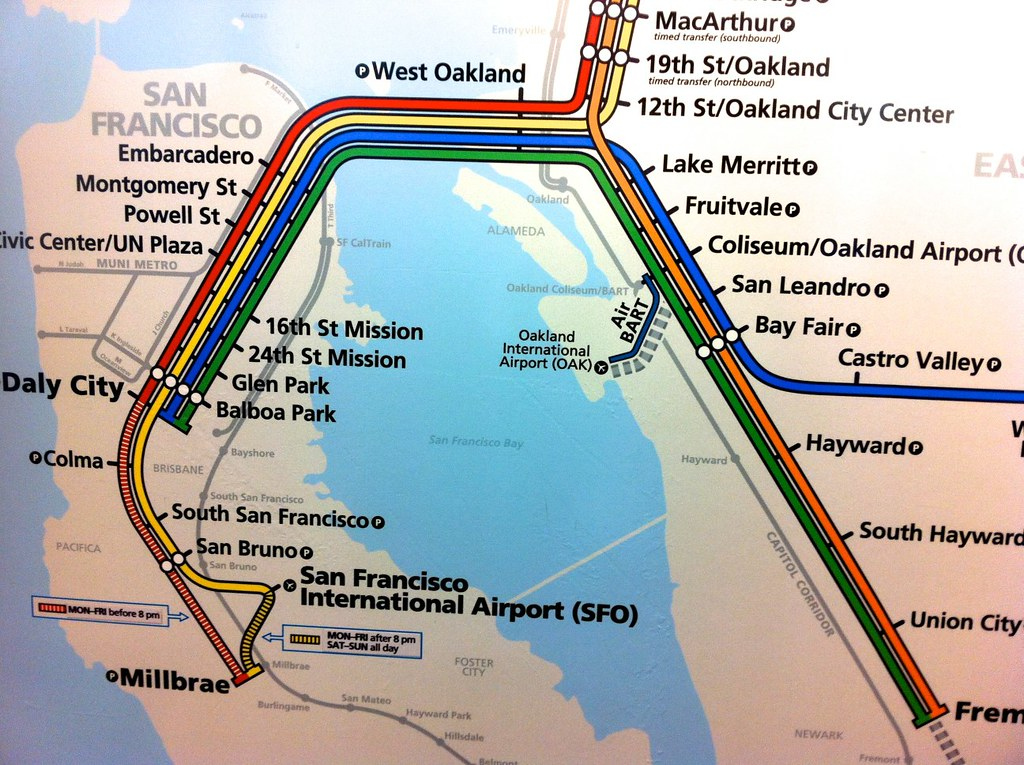 San Francisco BART Map | ロックメディア | Flickr on atlanta bart map, sacramento bart map, bart bus map, berkeley bart map, original bart map, walnut creek bart map, bay area bart map, bart system map, oakland bart map, richmond bart map, california bart map, bart muni map, bart station map, pleasanton bart map, east bay bart map, future bart map, bart sfo airport map, los angeles bart map, pittsburgh bart map, dallas bart map,