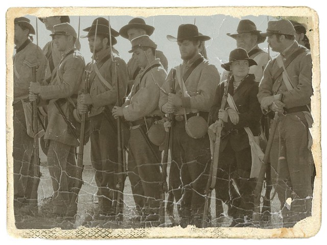 Confederate Rank and Order Line