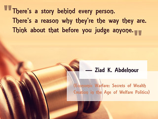 Ziad abdelnour Quote_There is astory behind every person | by ziadabdelnour