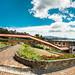 Panorámica El Camino Real / Sala Con Chimenea — Decameron Lago de Tota