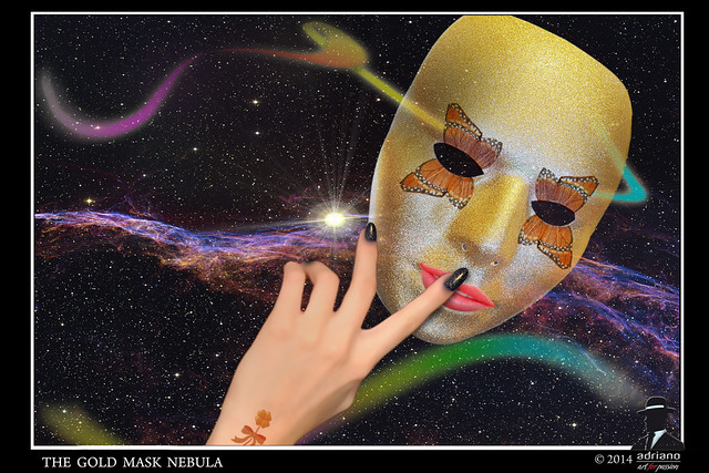 The gold mask nebula