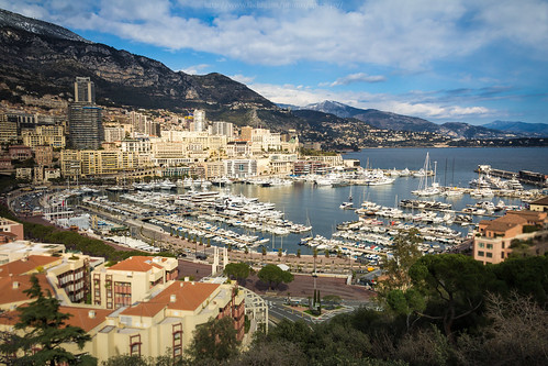city travel cruise sea sky mountain color building sunshine architecture clouds port canon boats europe mediterranean cloudy montecarlo monaco 2013 porthercule