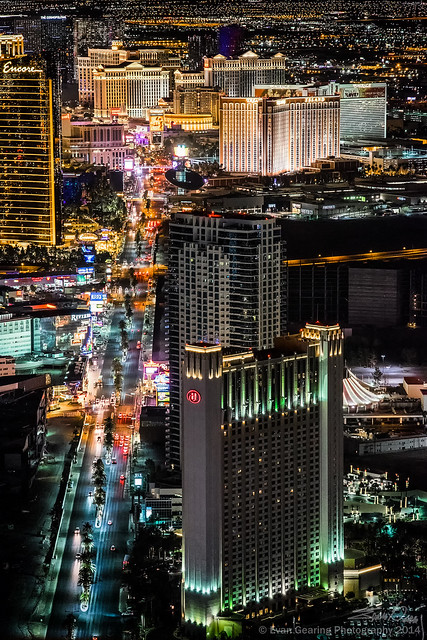 Las Vegas Strip from the Strat