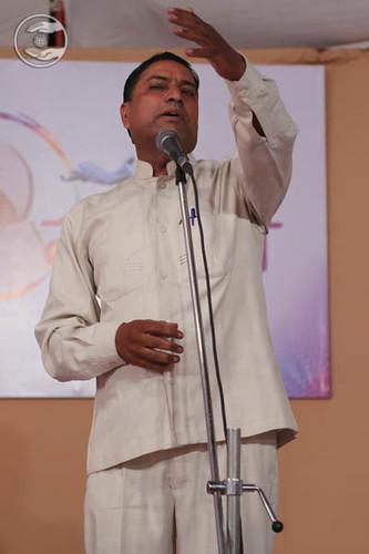Mahesh Kumar expresses his views