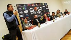 Conferencia Globo Aerofest Metepec 2016