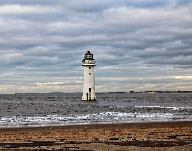 30-11-16 Perch Rock Lighthouse. ( Seems to be pointing to where we should go next)