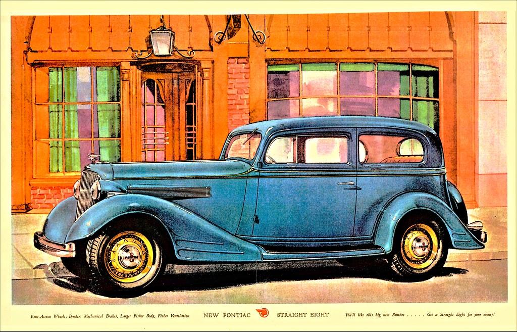 1934 Pontiac Eight 2-Door Sedan | Alden Jewell | Flickr