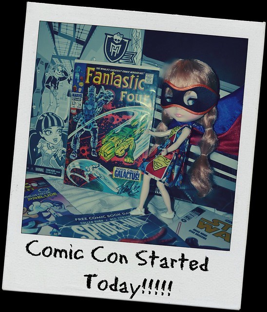 208/365 - Comic Con Started Today