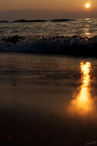 sunset sea japan nikon niigata seashore 50mmf14 d90 nikkorsc50mmf14 2013 fujitsukabeach