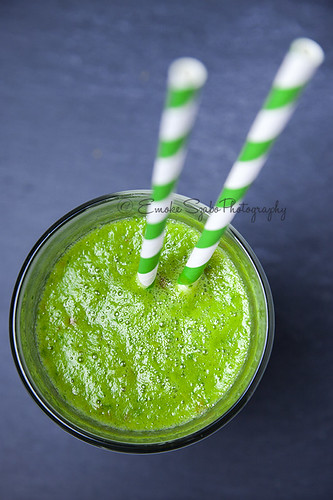 Green smoothie | by Emoke Szabo