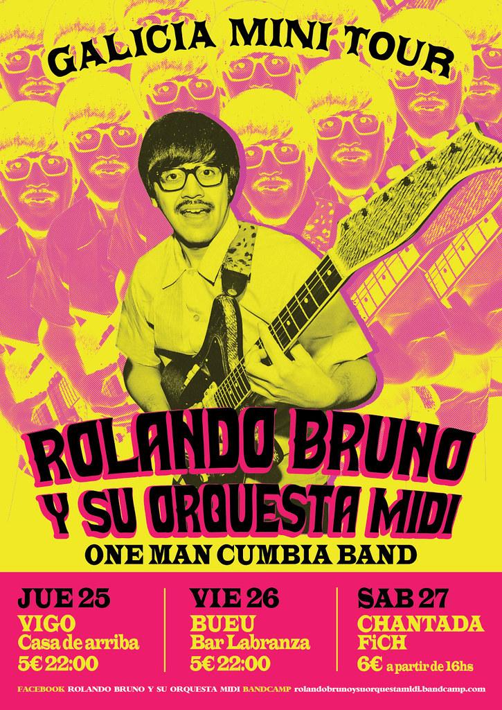 ROLANDO BRUNO Y SU ORQUESTA MIDI - Poster | rolandobrunoysuo… | Flickr