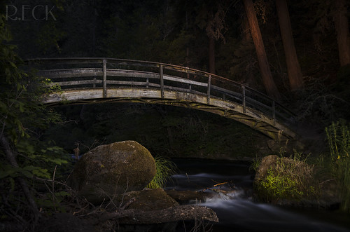 The Dark Bridge | by Russell Eck