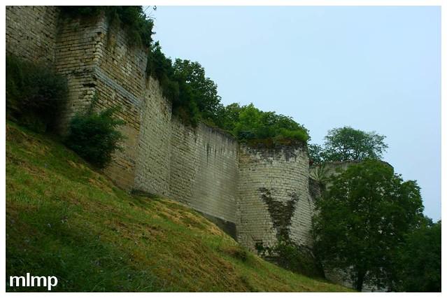 Les remparts du chateau de Chinon