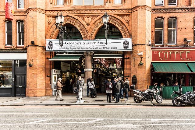 Streets Of Dublin - George's Street Arcade
