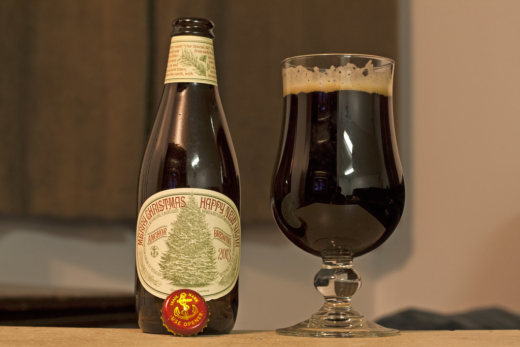 Anchor Steam Christmas Ale.December 12 Anchor Brewing Christmas Ale Our Special Al