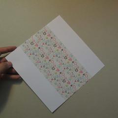 วิธีการพับกระดาษเป็นรูปหัวใจ 001