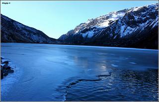 The Frozen Samity Lake   by RaajM