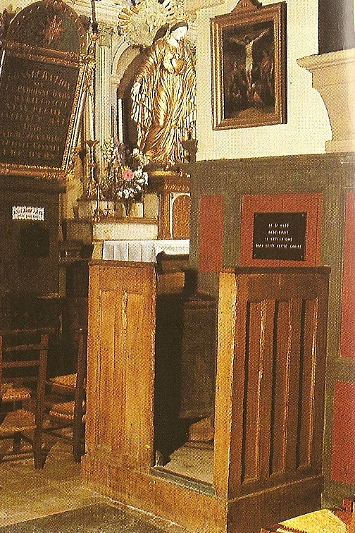pulpit for the 11 o'clock talks