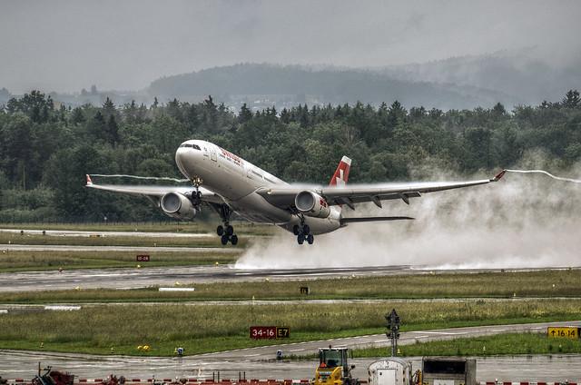 Swiss Airbus A330-343X HB-JHA