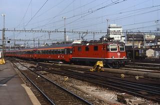 09.08.88 Zurich HB SBB Re 4/4¹¹ 11381