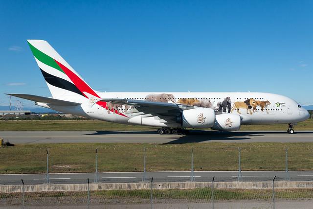 Emirates Airbus A380-861 A6-EQ