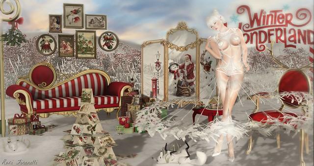 Boudoir's Winter Wonderland