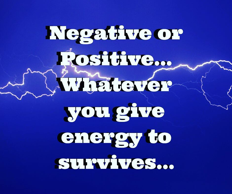 Negative or Positive Energy