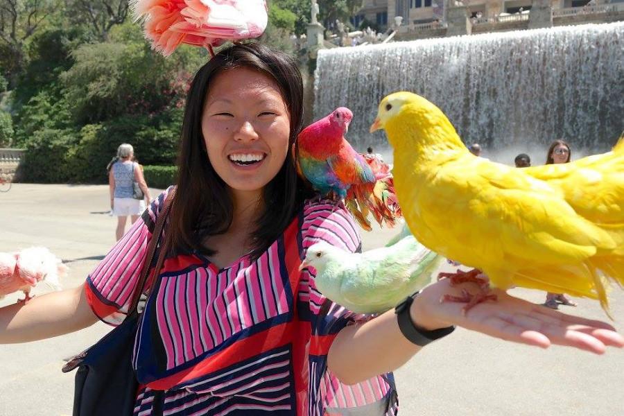 Ly, Cindy; Barcelona, Spain - NINE - Birds
