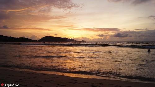 sunset patong thailande novembre november 2016 beach vacation holiday plage voyage travel beautiful lцdоіс