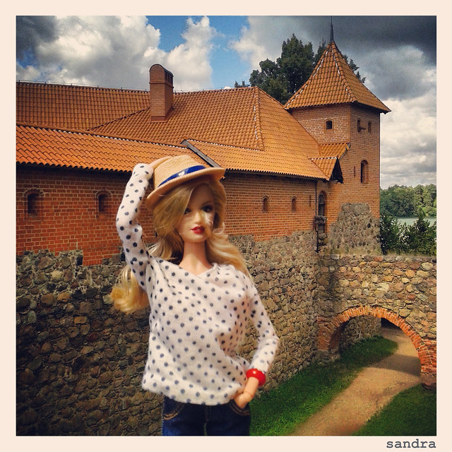 Barbie & Instagram. Trakai.