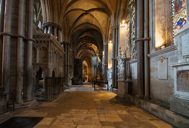 Ely Cathedral nave UK