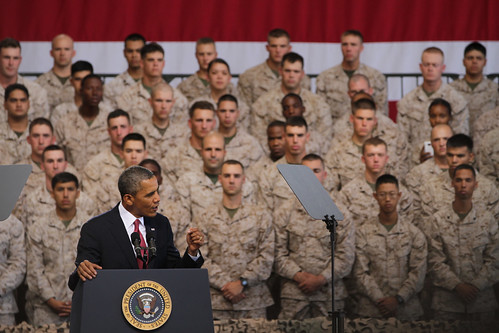 Pres. Obama to Marines: 'Our Marine Corps is the finest expeditionary force in the world' [Image 14 of 24] | by DVIDSHUB