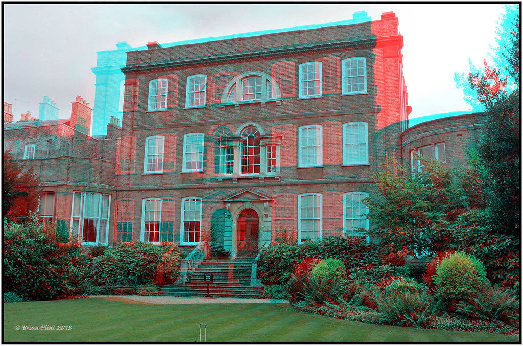 Peckover House - 3d anaglyph
