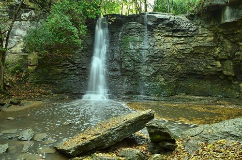 autumn columbus ohio fall landscape waterfall haydenrun haydenfalls