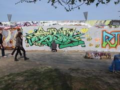 Mauerpark graffiti
