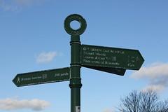 Signpost, Winns Common