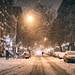 New York City - Snow - Janus - East Village - 9th Street by Vivienne Gucwa