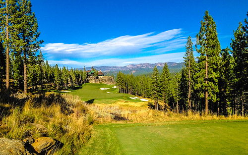 california foothills mountains golf landscape sierra
