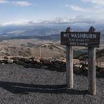 Mt. Washburn sign