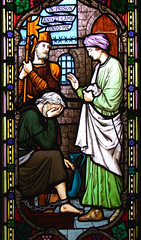 works of mercy: in prison and ye came unto me