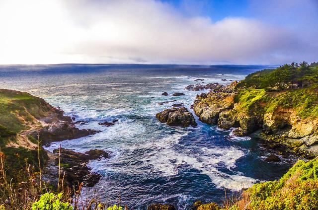 """Fog Rolling In""   Big Sur Coastline, California"