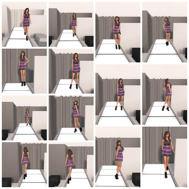 [ILAYA] & [ kunst ] - Catwalk Collage