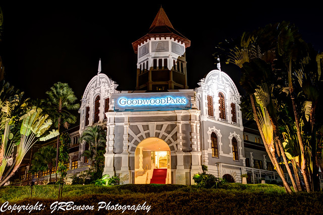 Goodwood Hotel at Night