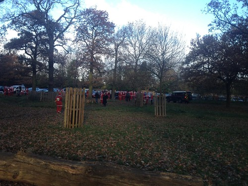 Santa Run in Richmond Park | by RachelC