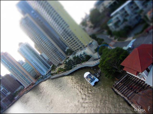 Australia - Brisbane Tilt Shift