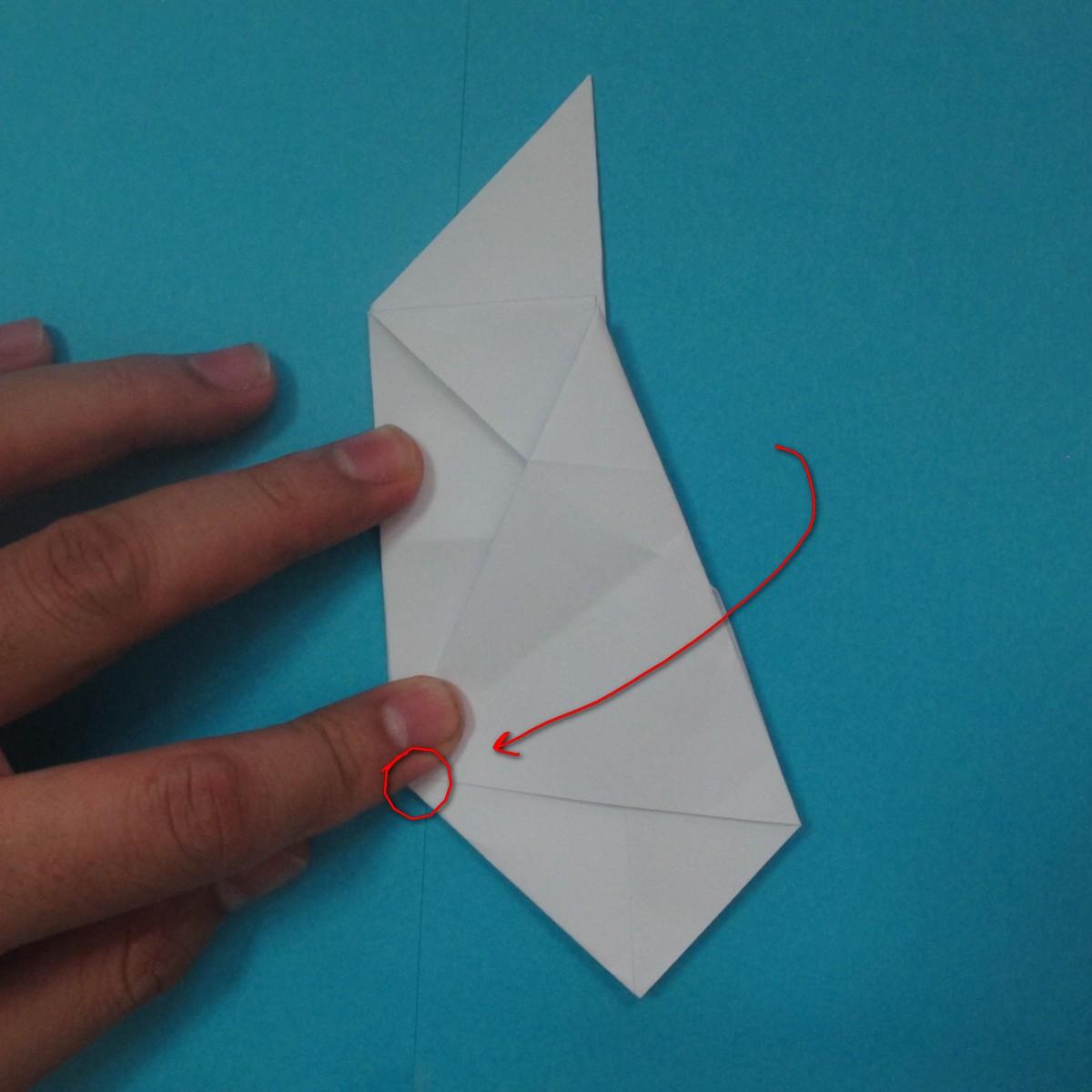 วิธีการพับกระดาษเป็นนกเพนกวิ้น 029