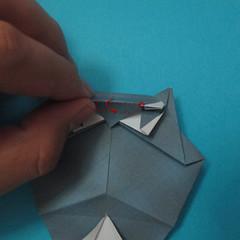 วิธีการพับกระดาษเป็นรูปนกเค้าแมว 028