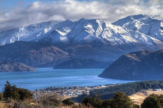 Lake Wanaka, Mount Aspiring National Park from the top of Mount Iron | by Geee Kay