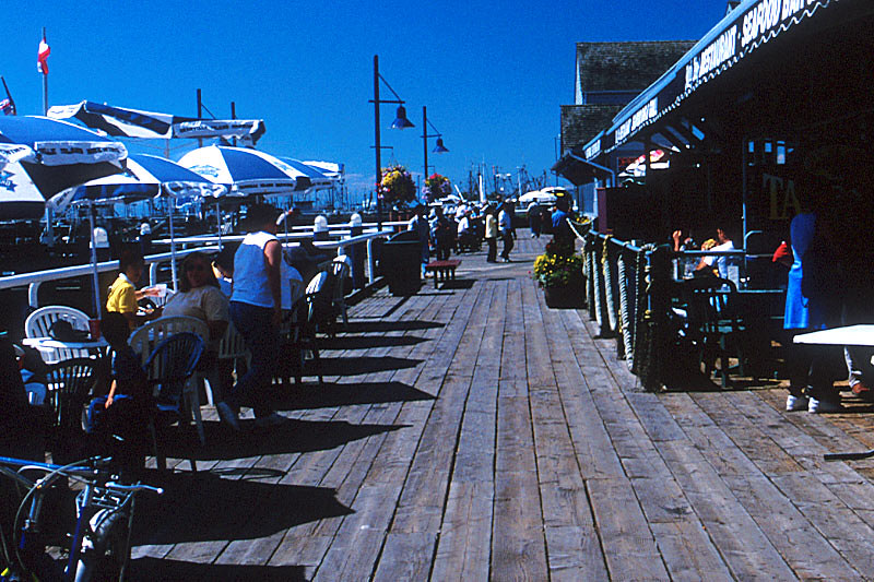 The Boardwalk in Steveston, Greater Vancouver, British Columbia, Canada